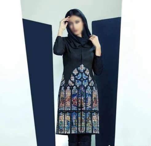 Manto Sonati 13 e1534077884260 مدل مانتو سنتی کوتاه | زیباترین مدل مانتوهای سنتی کوتاه برای خانم های شیک پوش مدل لباس