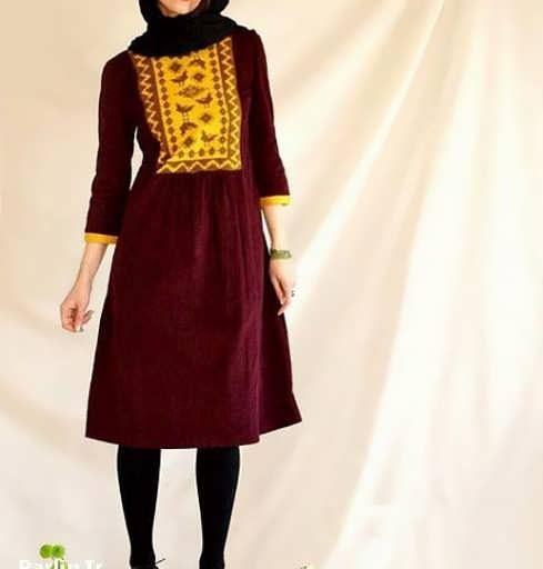 Manto Sonati 21 e1534078321965 مدل مانتو سنتی کوتاه | زیباترین مدل مانتوهای سنتی کوتاه برای خانم های شیک پوش مدل لباس