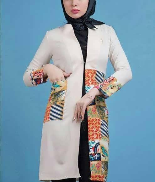 Manto Sonati 26 e1534078601490 مدل مانتو سنتی کوتاه | زیباترین مدل مانتوهای سنتی کوتاه برای خانم های شیک پوش مدل لباس