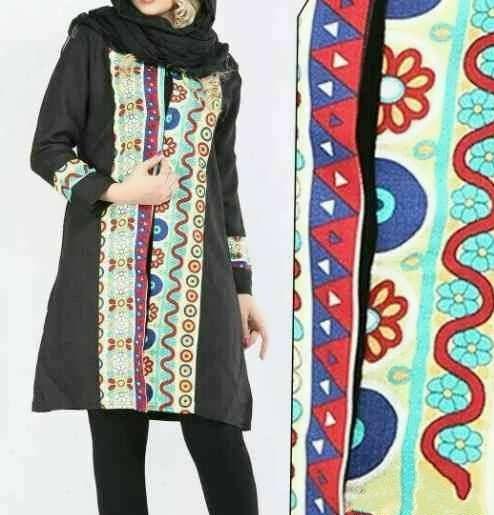 Manto Sonati 27 e1534078715569 مدل مانتو سنتی کوتاه | زیباترین مدل مانتوهای سنتی کوتاه برای خانم های شیک پوش مدل لباس
