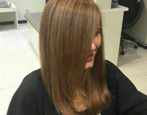 رنگ موی دودی زیتونی