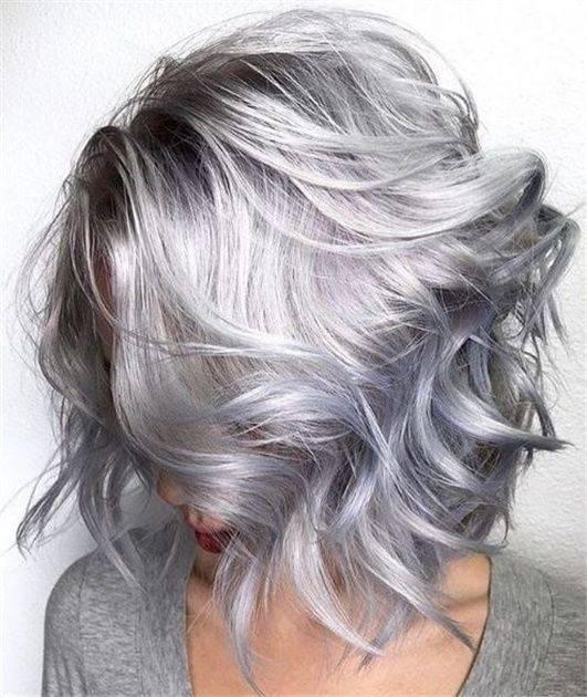 رنگ مو طوسی