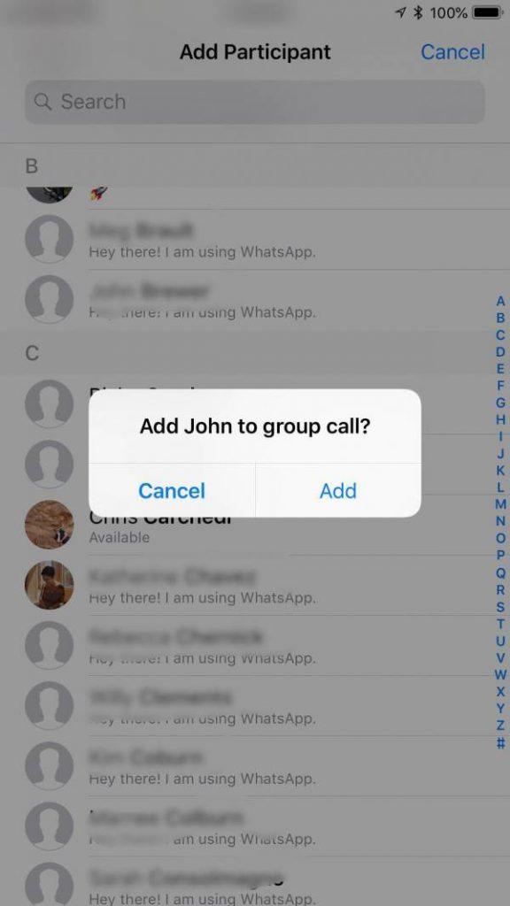 آموزش تماس ویدیویی گروهی یا چند نفره در برنامه واتس اپ