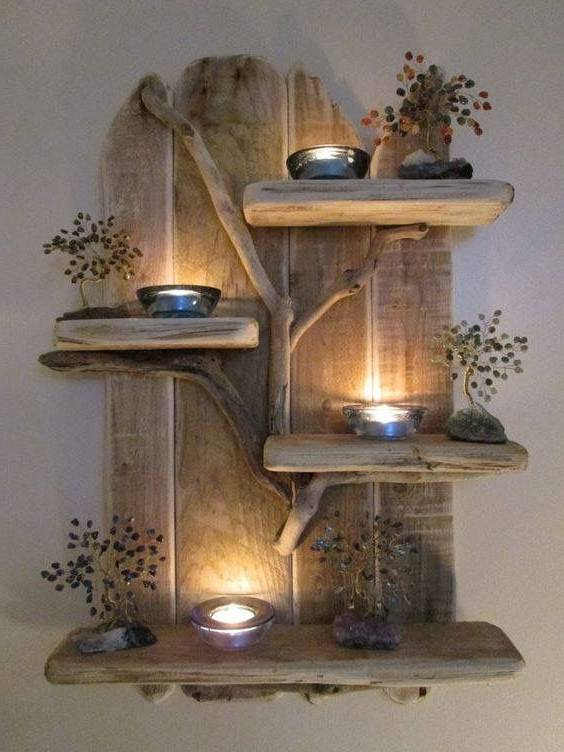 تزیینات و دکوری های چوبی منزل در مدل های جدید و شیک