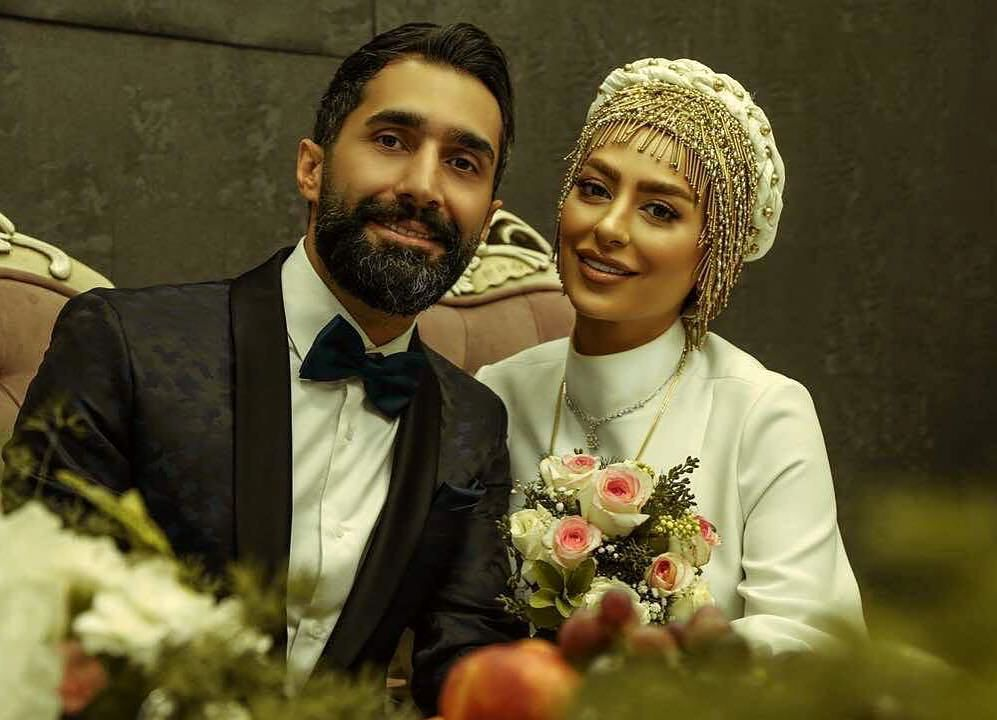 ازدواج سمانه پاکدل و هادی کاظمی