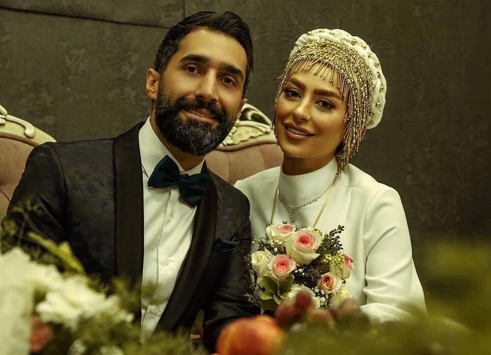 عکس سمانه پاکدل و همسرش هادی کاظمی