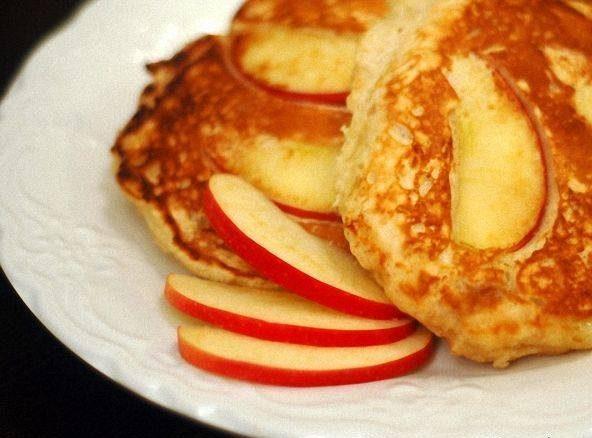 پنکیک سیب