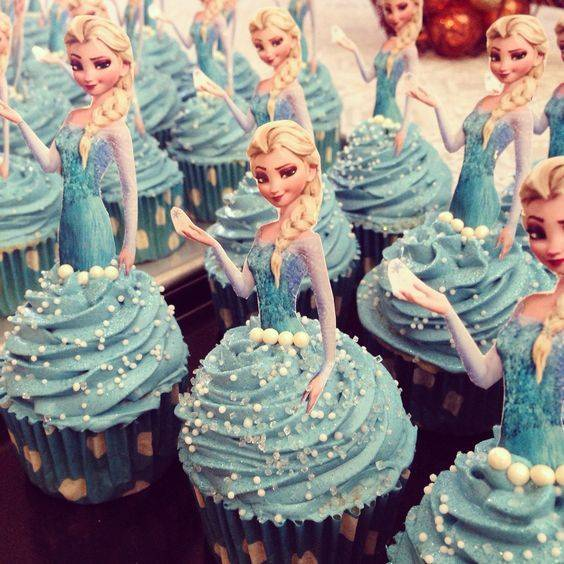 تزیینات و تم فروزن (پرنسس یخی) برای جشن تولد دختر