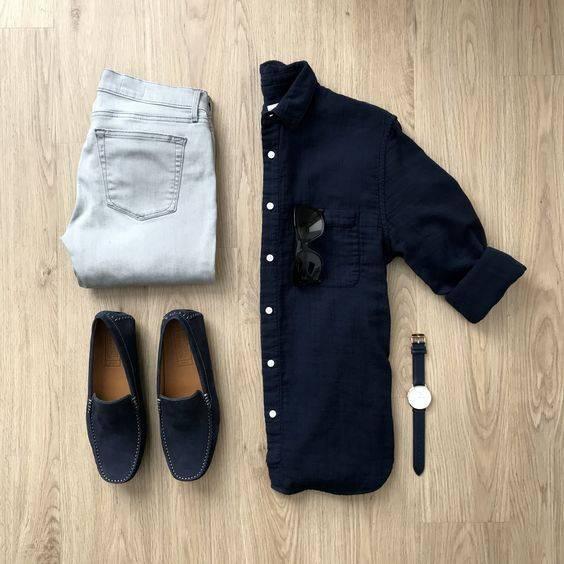 tip moharami 6 تیپ ماه محرمی مردانه | ست پیراهن و شلوار مردانه برای ماه محرم مدل لباس