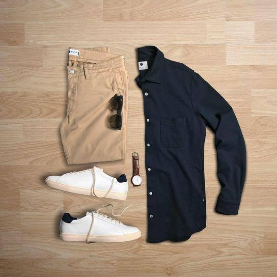 tip moharami 8 تیپ ماه محرمی مردانه | ست پیراهن و شلوار مردانه برای ماه محرم مدل لباس