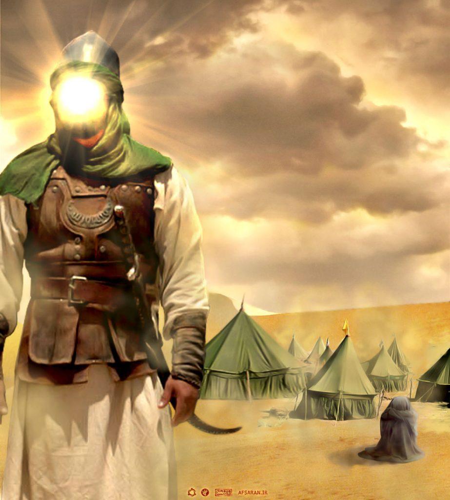 حضرت عباس خواهرزاده شمر بود؟ آیا شمر دایی حضرت عباس است؟