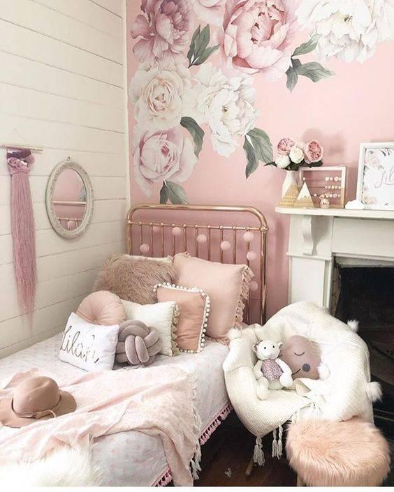 ایده های شیک و جالب برای دکوراسیون اتاق خواب دخترانه به