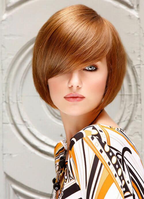 مدل مو صورت کشیده