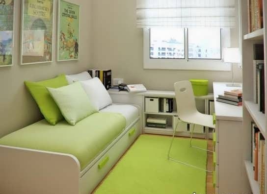 دکوراسیون اتاق خواب تک نفره با طراحی زیبا