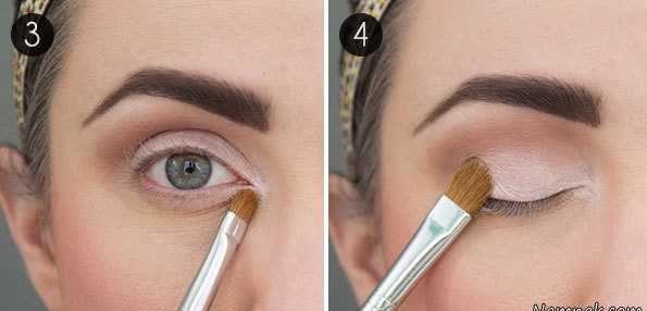 آموزش تصویری آرایش جذاب برای درشت کردن چشمان ریز {hendevaneh.com}{سایتهندوانه} - cheshm riz 2 e1537176946936 - آموزش تصویری آرایش جذاب برای درشت کردن چشمان ریز