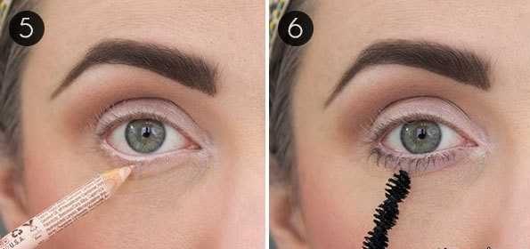 آموزش تصویری آرایش جذاب برای درشت کردن چشمان ریز