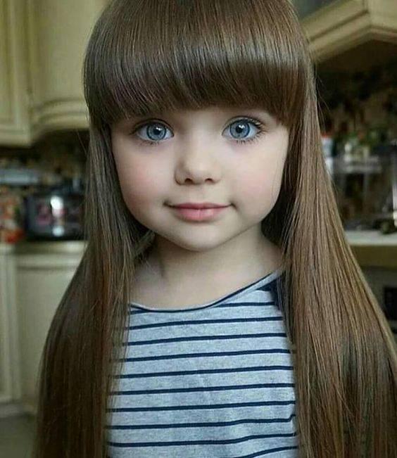 عکس های زیباترین دختران جهان با چشمان رنگی و خوشگل