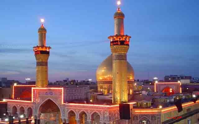 karbala 11 عکس های بسیار زیبا از حرم امام حسین عکس