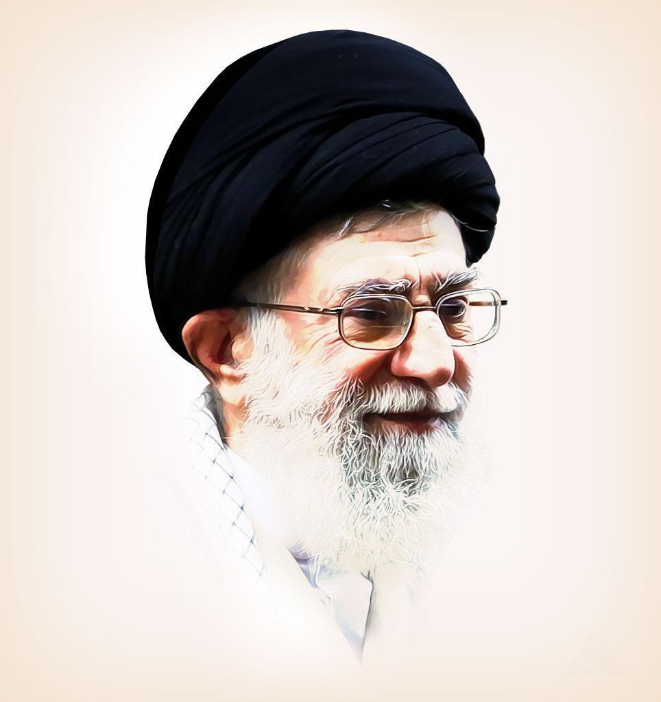 عکس نوشته های پروفایل مقام معظم رهبری آیت الله خامنه ای