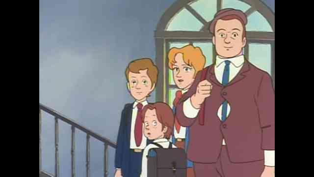 آهنگ کارتون دهه شصتی بچه های مدرسه والت