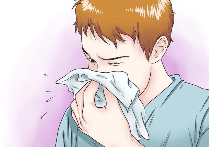 درمان آبریزش بینی