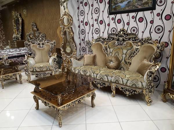 مدل مبل منبت کاری شده سلطنتی