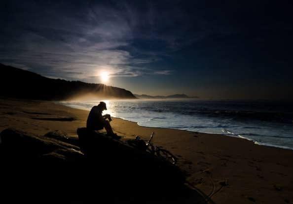 عکس تنهایی غمگین
