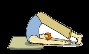 حرکت یوگا برای کاهش وزن