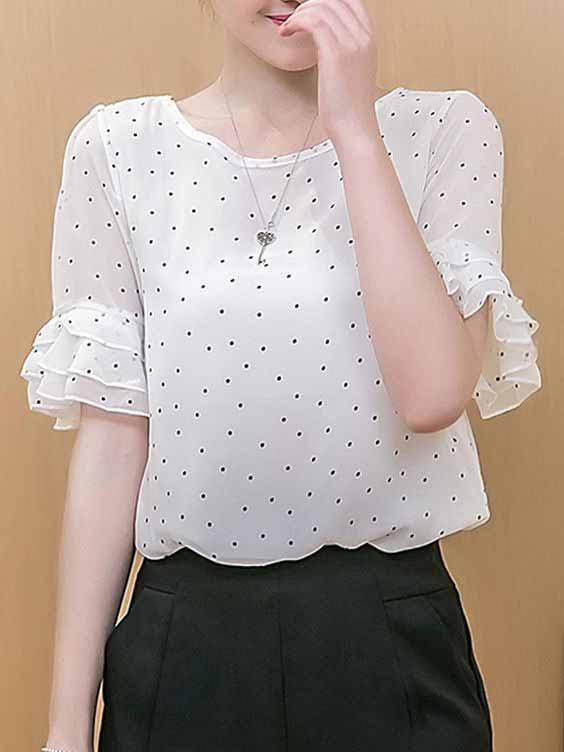 مدل بلوز زنانه مجلسی {hendevaneh.com}{سایتهندوانه} - Womens blouse 21 - مدل بلوز زنانه مجلسی؛ شیک ترین مدل های بلوز مجلسی زنانه زیبا