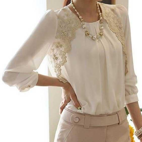 مدل بلوز زنانه مجلسی {hendevaneh.com}{سایتهندوانه} - Womens blouse 5 - مدل بلوز زنانه مجلسی؛ شیک ترین مدل های بلوز مجلسی زنانه زیبا