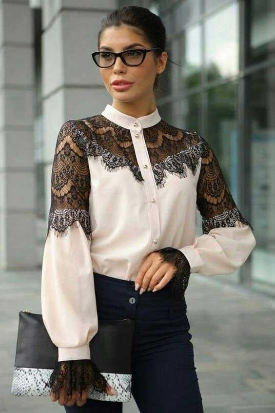 مدل بلوز زنانه مجلسی {hendevaneh.com}{سایتهندوانه} - Womens blouse 8 - مدل بلوز زنانه مجلسی؛ شیک ترین مدل های بلوز مجلسی زنانه زیبا