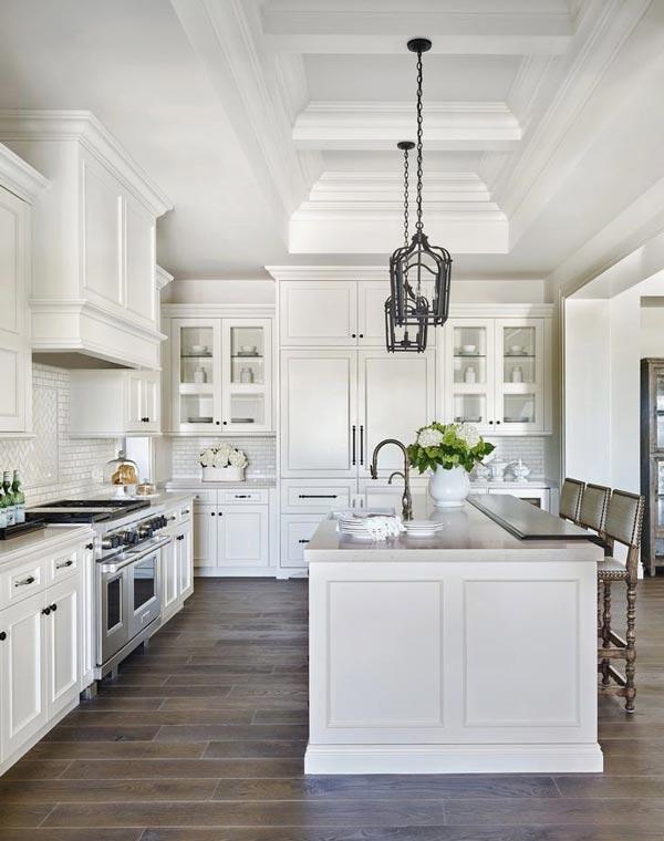 Photo of مدل کناف اپن آشپزخانه؛ انواع کناف سنتی و مدرن آشپزخانه