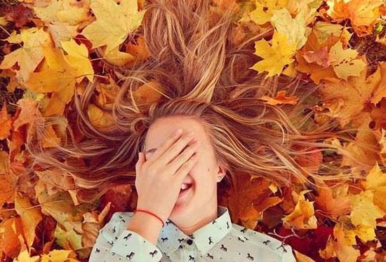 گرفتن عکس پاییزی