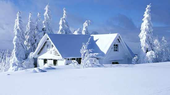 انشا زمستان