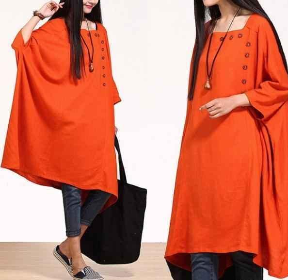 مدل مانتو رنگ سال 2019 و 1398 | مدل مانتو به رنگ مرجانی و نارنجی رنگ سال
