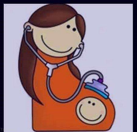 عکس پروفایل بارداری