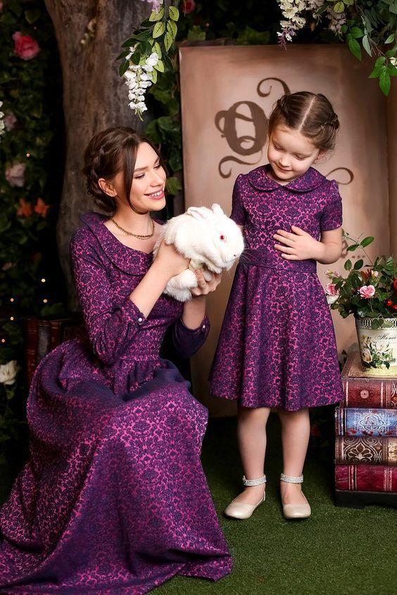 ست لباس مادر و دختری