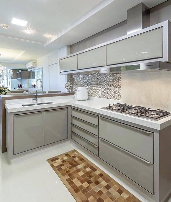 Photo of دکوراسیون طوسی رنگ و مدل های کابینت آشپزخانه به رنگ طوسی