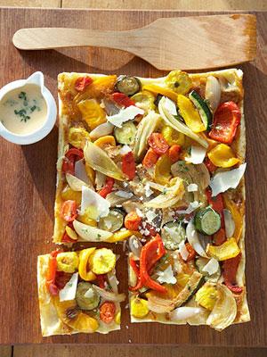 پیتزای سبزیجات