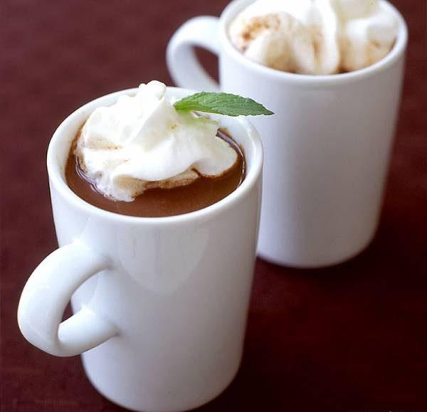 شکلات داغ نعنایی