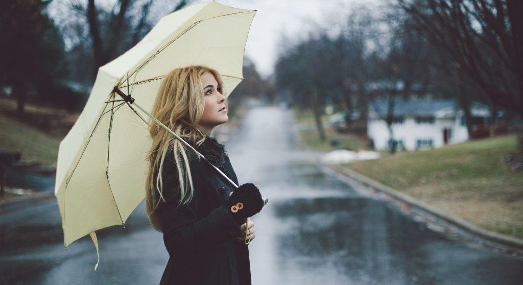 Rainy day makeup