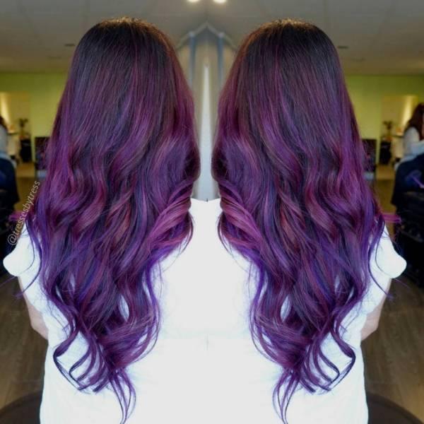مدل رنگ موی پاستیلی