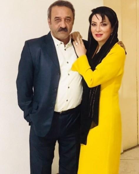 علی اسیوند | بیوگرافی و عکس های علی اسیوند و همسرش حمیرا ریاضی