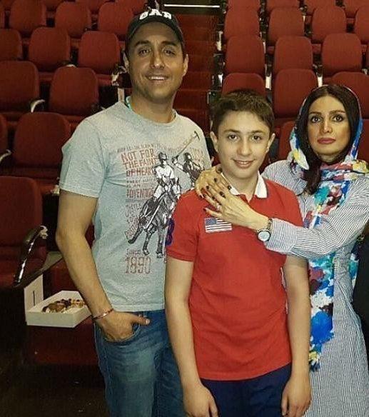 امیرحسین رستمی | بیوگرافی عکس های امیرحسین رستمی و همسرش پوراندخت الستی