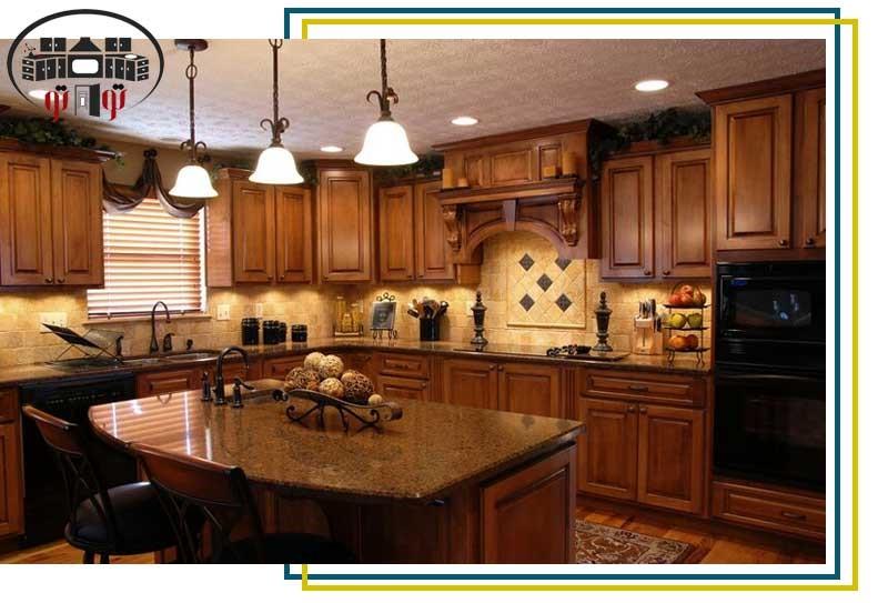 بهترین انتخاب برای کابینت های پیش ساخته آشپزخانه