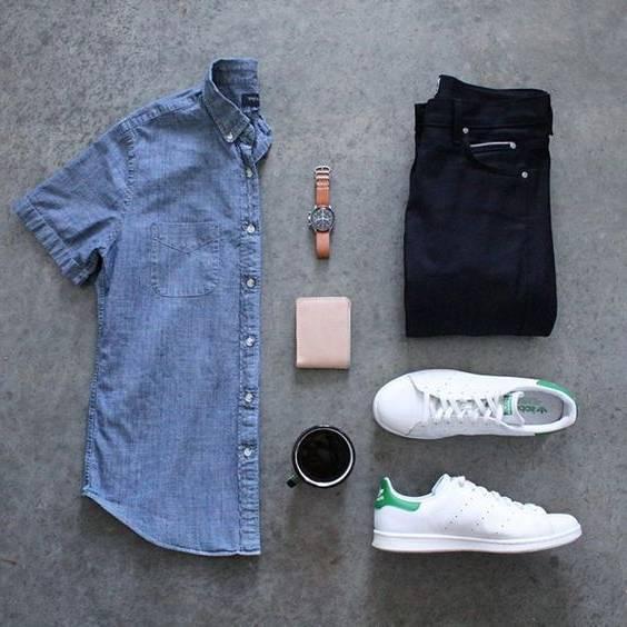 Photo of ست پیراهن مردانه | پیراهن مردانه را با چه لباس هایی ست کنیم؟