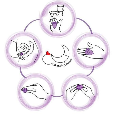 فنجان قاعدگی چیست و روش استفاده از فنجان قاعدگی