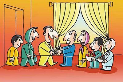 نحوه پذیرایی از مهمانان در عید نوروز و نکاتی برای مهمان نوازی