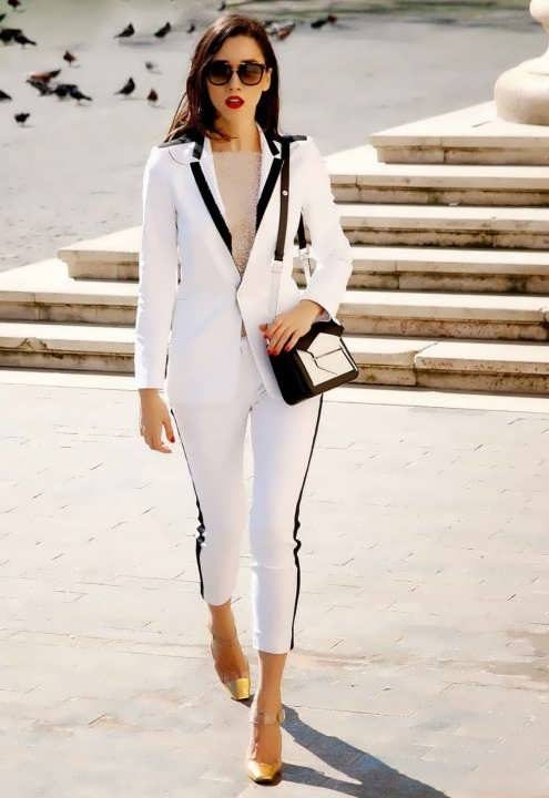 مدل کت و شلوار دخترانه ۲۰۱۹ مجلسی برای زنان و دختران شیک پوش
