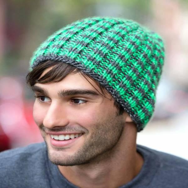 کلاه بافت مردانه مدل شل و نقاب دار